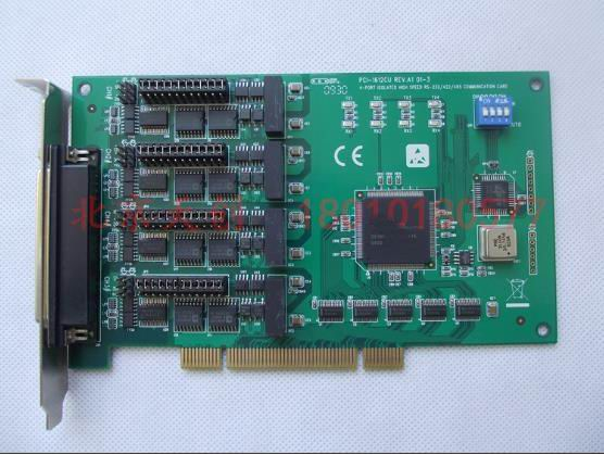 1 year warranty  New original  has passed the test   PCI-1612CU A1 4-port RS-232 RS-422 RS-485 Universal PCI Communication Card1 year warranty  New original  has passed the test   PCI-1612CU A1 4-port RS-232 RS-422 RS-485 Universal PCI Communication Card