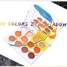 New Elk 16 color eyeshadow matte eyeshadow girl pearl glitter eye shadow makeup hot sale