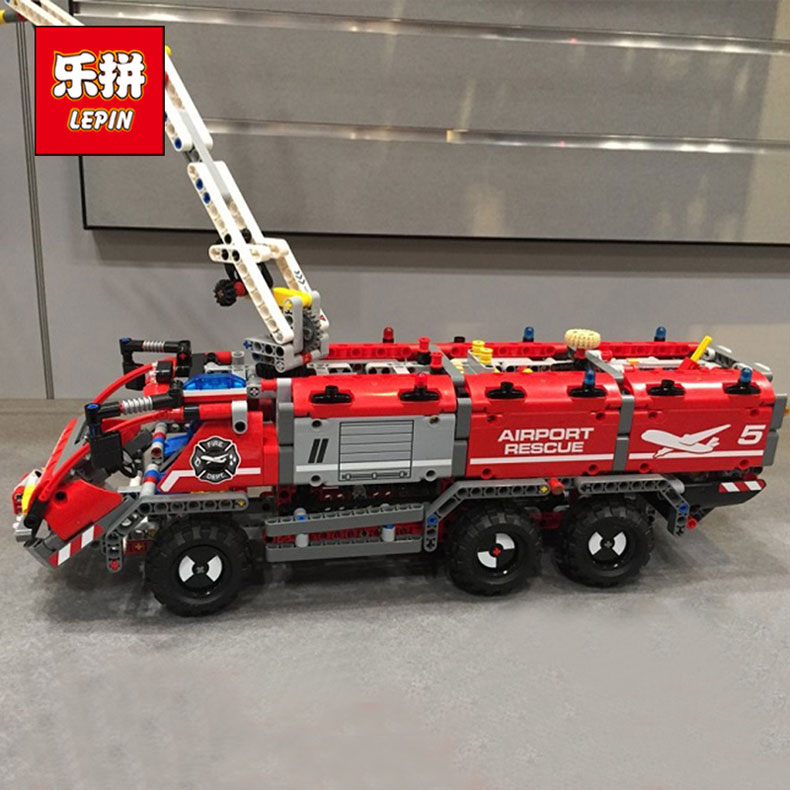 Lepin 20055 Genuine Technic Mechanical Series The Rescue Vehicle Set 42068 Children Educational Building Blocks Bricks Toys Gift the rescue