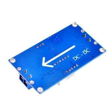 2 PC TENSTAR ROBOT LM2596 BUCK 3A DC-DC Module d'alimentation abaisseur réglable en tension + voltmètre bleu LED