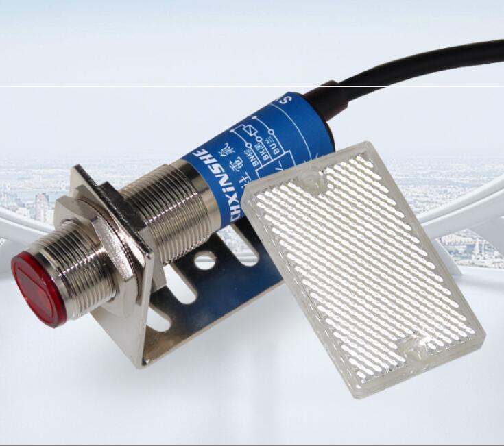 M18 Laser Sensor Infrared Feedback Reflex Photoelectric Switch Sn-4m 200mA 10-30VDC  SYM18J-4SN1/4SP1M18 Laser Sensor Infrared Feedback Reflex Photoelectric Switch Sn-4m 200mA 10-30VDC  SYM18J-4SN1/4SP1