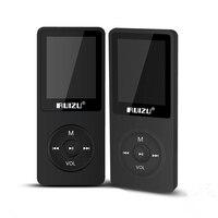 RUIZU X02 MP3 плеер 4 г/8 г/16 г Портативный Mp3 может играть 80 часов с FM радио электронная книга, часы голос Регистраторы Бесплатная оригинальные науш...