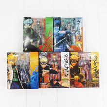 SHFiguarts Naruto Namikaze Minato Kakashi Naruto Uzumaki Uchiha Sasuke PVC Figure Toy Model Dolls 14~16cm 7Styles Selectable