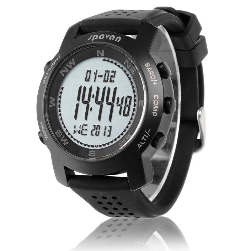 IWO8/W54 OGEDA лучший бренд класса люкс мужские часы серии 4 водонепроницаемые Модные Casul спортивные Цифровой Секундомер резиновый ремешок часы ... - 3