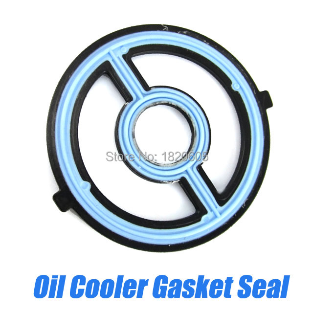 Engine Oil Cooler Seal Gasket For Mazda Engine 3 5 6 Cx 7: 10x Engine Oil Cooler Repair Gasket Engine For Ford For