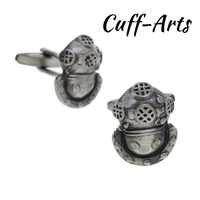 Boutons De Manchette pour hommes Divers boutons De Manchette casque cadeaux antiques pour hommes chemise boutons De Manchette Gemelos Bouton De Manchette par boutons De Manchette C10215