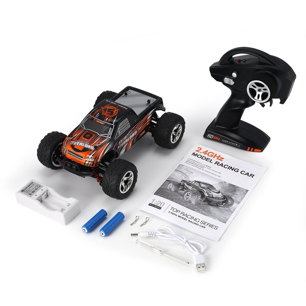 FY-15 1/20 Scale 2.4Ghz 4WD RC Car Toy 25km/h High Speed Bigfoot Big Wheels Off-Road Rock Race Truck Electric Remote Control CarFY-15 1/20 Scale 2.4Ghz 4WD RC Car Toy 25km/h High Speed Bigfoot Big Wheels Off-Road Rock Race Truck Electric Remote Control Car