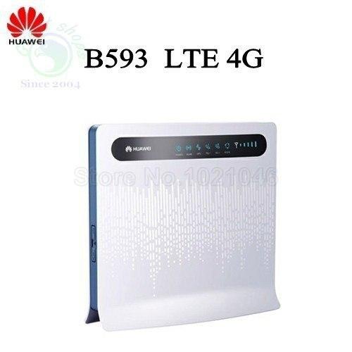 HUAWEI B593 LTE мифи WiFi 4 Г Маршрутизатор с SIM Card Slot TDD FDD 800 1800 2300 2600 МГц
