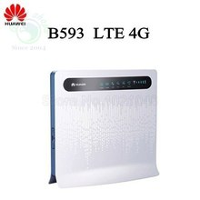 HUAWEI B593 b593s 12 LTE mifi WiFi 4G Router with SIM Card Slot FDD 800 1800