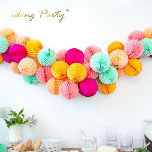 IDing Honeycomb Balls Set For Wedding Birthday Party Decoration