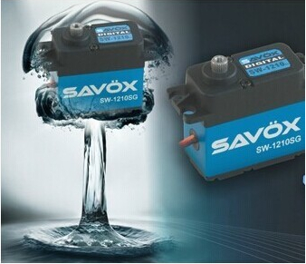Savox Waterproof Coreless Steel Gear Digital Servo Car Crawler Drift SW-1210SG jx pdi 5521mg 20kg high torque metal gear digital servo for rc model