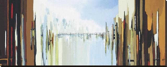 Urban Abstract No Oil Paintings On Canvas Decoration Art Cheap Artwork For  Home Store Decoration Office