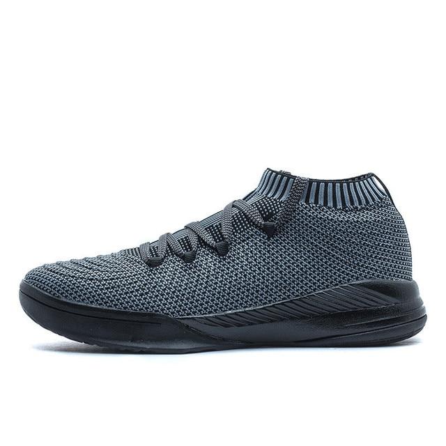 2018 Black Sport Basketball Shoes Men Breathable Basketball Boots Basket  femme de marque MenS Basketball Sneakers 82101185 Black b580059c969d