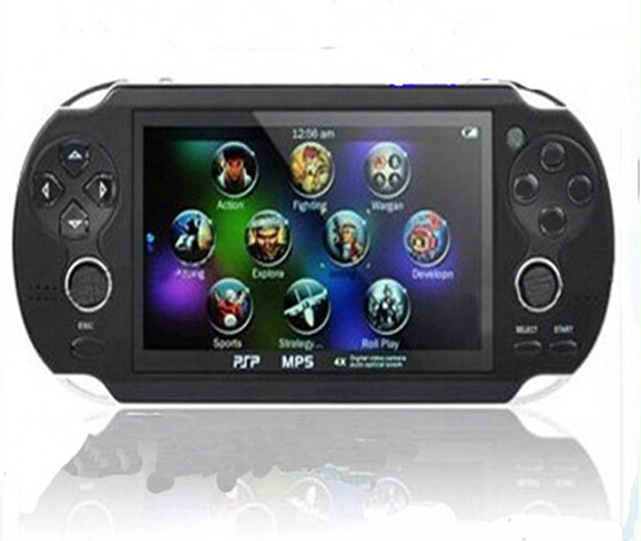 New 2015 8GB Handheld Game mp5 Player mp3 Player mp4 Player With     New 2015 8GB Handheld Game mp5 Player mp3 Player mp4 Player With Dual  Joystick Camera FM