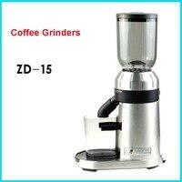 220 В/50 Гц электрическая кофемолка 250 г коммерческих и кофемолка на кофе мельница машина Профессиональный машина ZD 15