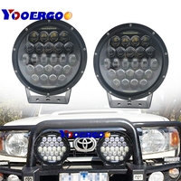 2x300W led work light 9 inch Round 60 LED Roof Driving Headlight Fog Lights Off Road Spot lights for Jeep, Truck, Car, ATV, SUV