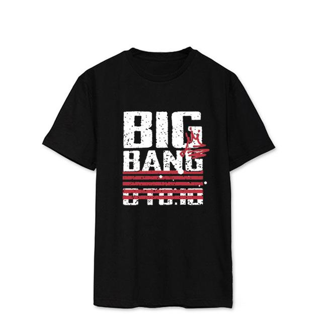Big Bang Made Red Stripped T-Shirt