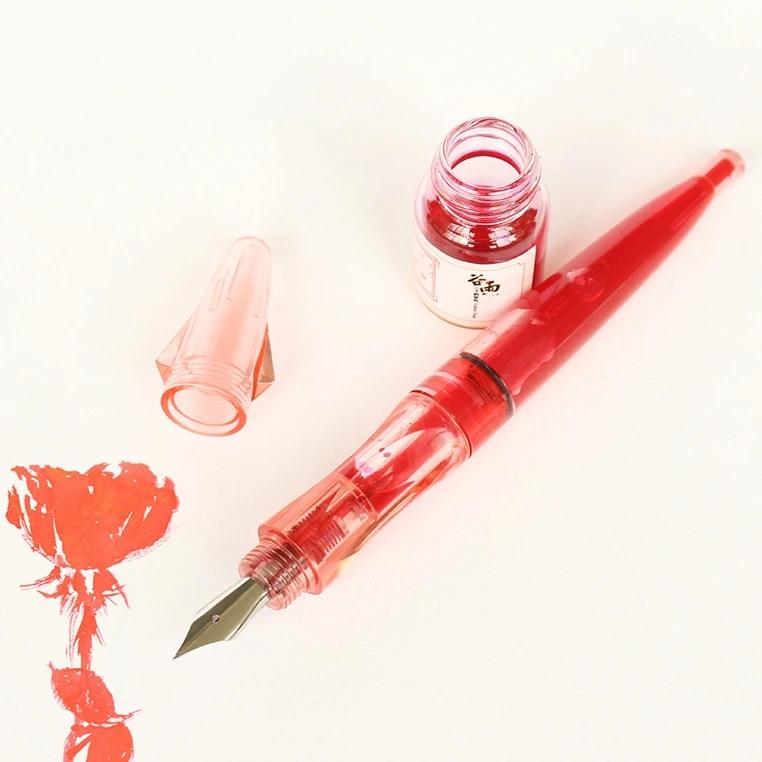 1pcs Prime Hand Pen Classic Expensive Pen Student Color Ink Transparent Pen Calligraphy Office Pen Consignment Fountain Pens Aliexpress