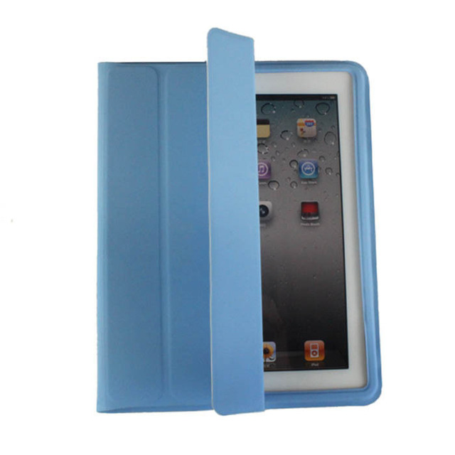 For ipad  2 3 case belt ultra-thin intelligent male women's style casual holsteins
