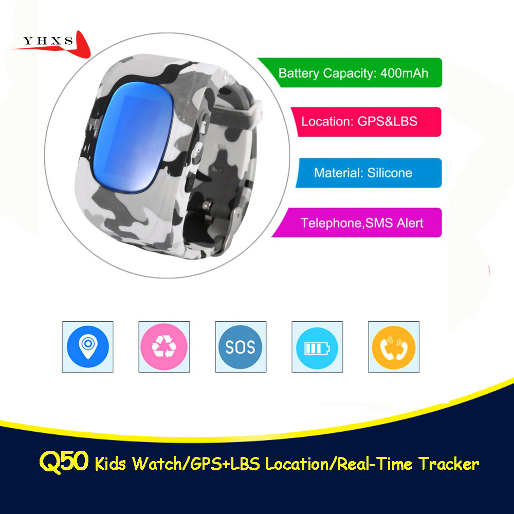 <font><b>Q50</b></font> GPS <font><b>Smart</b></font> <font><b>Kid</b></font> Safe <font><b>Watch</b></font> SOS Call Location Finder Locator Tracker for Child Anti Lost Remote Monitor Baby Wristwatch pk T58 image
