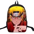 NARUTO Backpack 3D Printing College Student School Bag Nylon Satchel Preppy Anime Designer Backpack Shoulder Book Bag Rucksack
