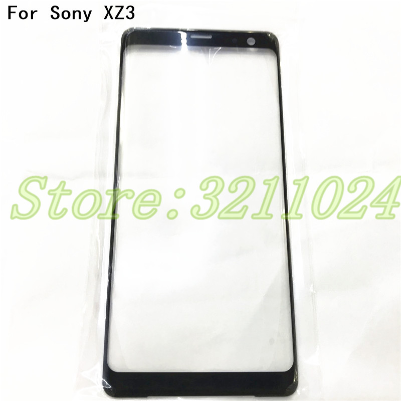 Good quality 6.0 inches Touch Screen Outer LCD Front Screen Glass Lens Cover For Sony Xperia XZ3 Replacement Parts+Tools