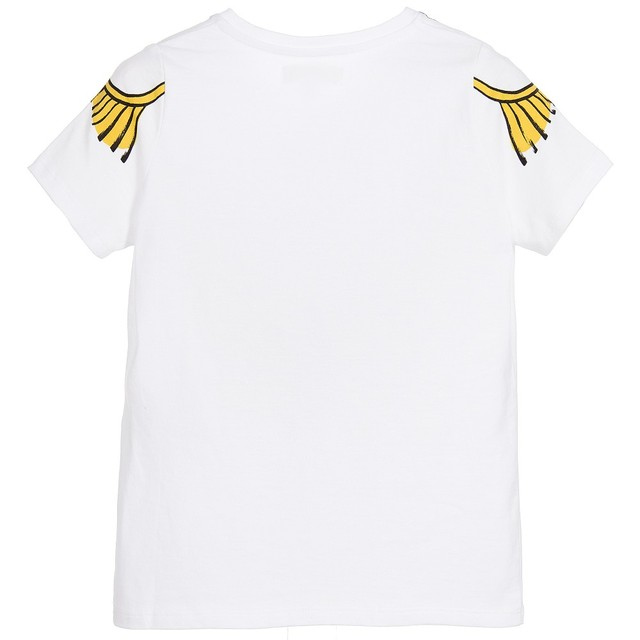 Boys' Cotton T-Shirt with O-Neck