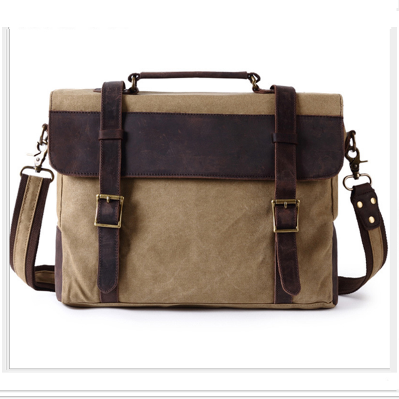 XIYUAN BRAND men's green/grey/khaki Messenger bag man Handbag Canvas Shoulder postman Bag Men casual Crossbody Messenger bags man s casual canvas shoulder bag messenger bag coffee white