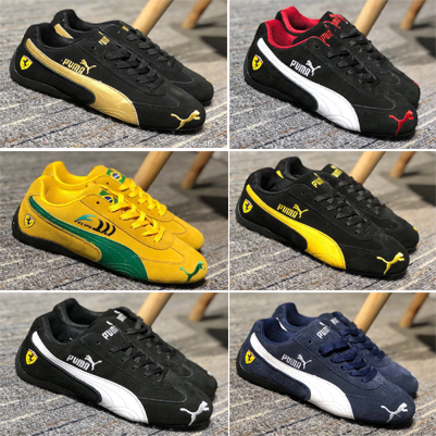 US $40.41 14% OFF|Original PUMA Men'sWomen'sUnisex Drift Cat 5 Ultra Sneaker Badminton Shoes Lace up Sport Racing shoes Size36 44 in Badminton Shoes