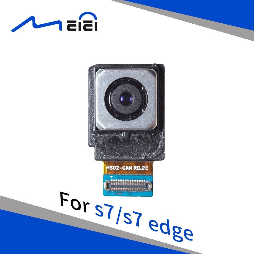 New Testado Para Samsung Galaxy S7 G930F/S7 Borda G935F Voltar Rear Substituição Do Módulo Da Câmera Peças De Reparo Flex Cabo