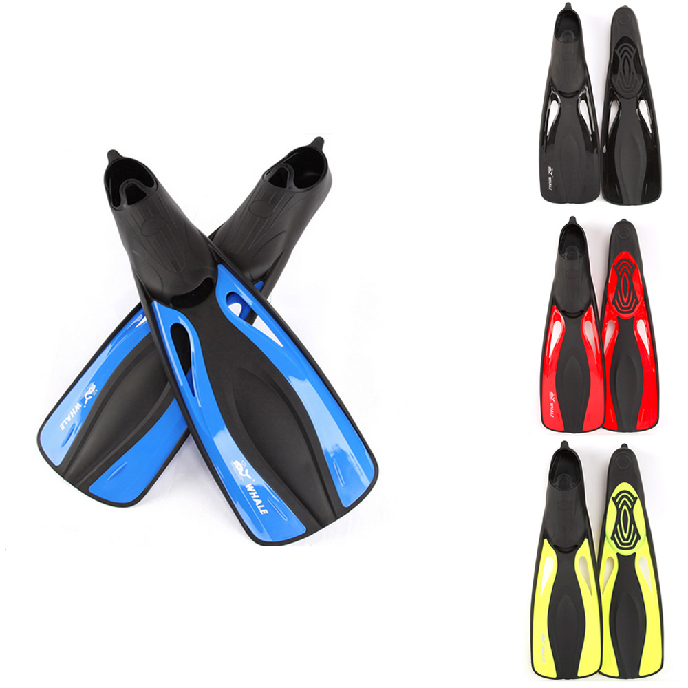 Adulte confort Flexible palmes de natation Submersible longue natation plongée en apnée pied Profession palmes de plongée palmes Sports nautiques S-XL