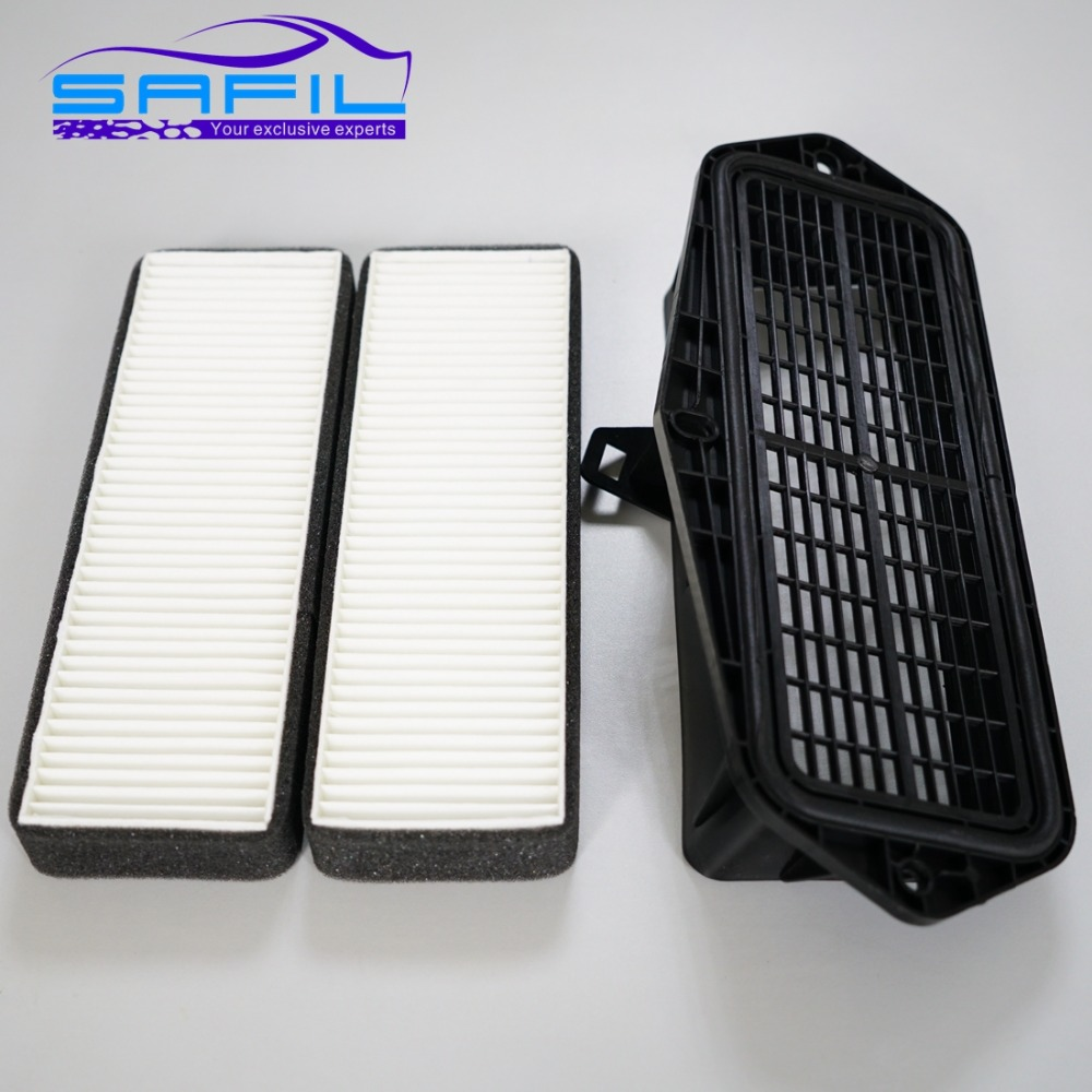 FOR VW external air filter assembly inlet air filtration MK7 new Octavia Volkswagen Golf 7 Audi A3 with 2 filters vacuum pump inlet filters f007 7 rc3 out diameter of 340mm high is 360mm