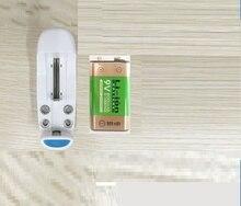 Baterias para os para os Detectores de Fumaça Microfones plus Carregador 800 Mah Li-ion 9 V Recarregável Detectores de Fumaça sem Fio