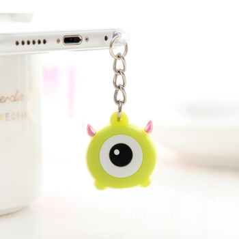 1 Piece Cute 3.5mm Headphone Jack plug Music port Cartoon AUX audio 3.5 stopper for Ip 5 6 PC latop notebook stopple image