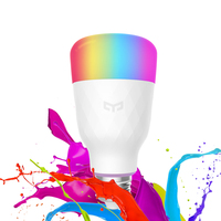 Xiaomi Yeelight RGB LED Bulb Smart APP WiFi Remote Control Smart LED Light Bulb E27 E26 10W 800lm AC100 240V Decorative Lamp