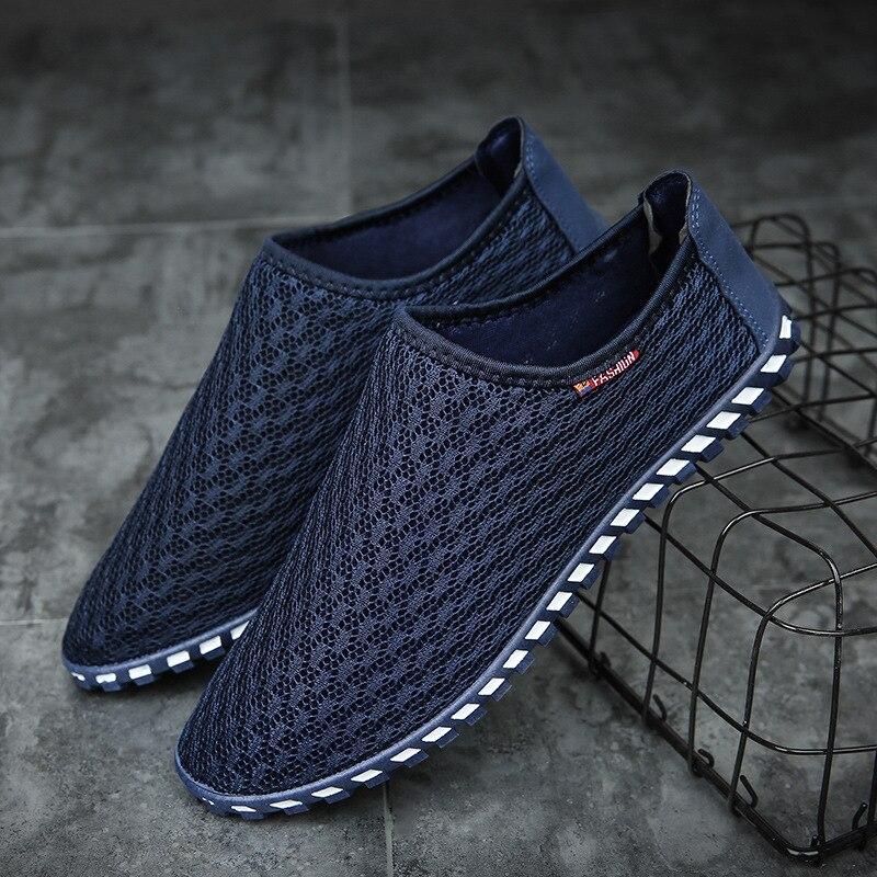 Новый Дизайн Для мужчин Обувь с дышащей сеткой обувь башмаки высокое качество B 18