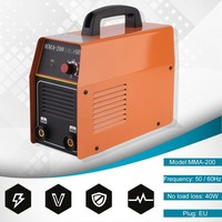 DC ARC TIG Welder Inverter Welding Machine Electric Cutter Input Voltage 220V For Carbon Steel Alloy