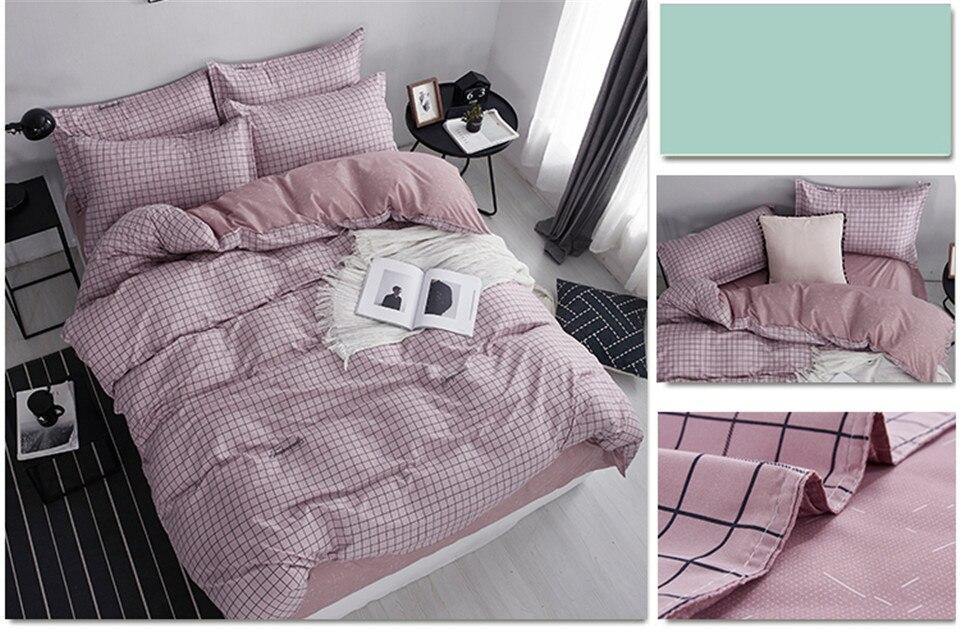 Lanlika dot arte branco rosa conjunto de