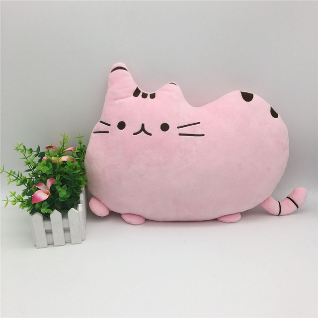 Baby Pusheen Cat Pillow Soft PP Cotton Automotive Baby Pillow Crib Seat Cushion Stuffed & Plush Toy Kids Portable Bedding Pillow