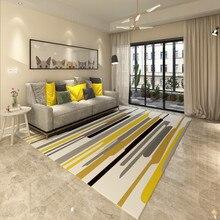 200cm*300cm big carpets Nordic minimalist style carpet modern geometric abstract living room decorate Rugs table pad Household b