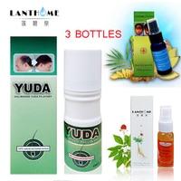3 زجاجات sunburst lanthome نمو الشعر علاج تساقط الشعر pilatory توقف تساقط الشعر منتجات الشعر النمو المصل للرجال