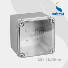 Saipwell Most popular electrical junction box,waterproof electronics enclosure ip66 125x125x100mm type DS-AT-1212