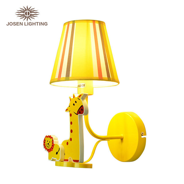 Cartoon Baby Kids Lamp Bedroom Boy Night Wall Sconce Lamp Kids Wall Light  Reading Toys Desk