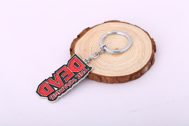 The Walking Dead Logo Keychain