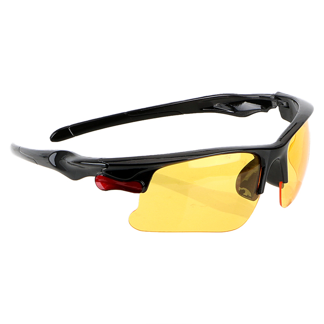 YOSOLO Protective Gears Sunglasses Night Vision Drivers Goggles Driving Glasses Anti Glare Night-Vision Glasses