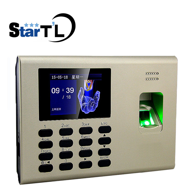 Free Shipping ZK K40 Linux System Fingerpint Access Control TCP/IP Fingerprint Time And Attendance System Built In Back Up free shipping zk linux system tcp ip touch screen fingerprint finger vein and smart card access controller door access control
