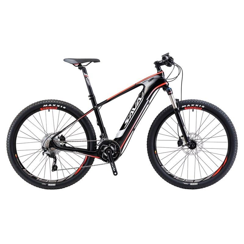 SAVA vélo électrique VTT électrique fibre de carbone e vélo 27.5 vélo vélo électrique cadre en fibre de carbone vélo électrique
