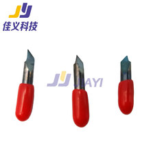 цена на Ioline Cricut Cutting Plotter Cemented Carbide Blade Cutter Knife for Ioline 30 45 60 Degree Knifepoint Offset 0.25mm