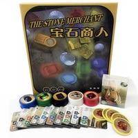 The Stone Merchant Board Game Paper Plastic Chips 2 4 Players Splendor Best Gift For Children