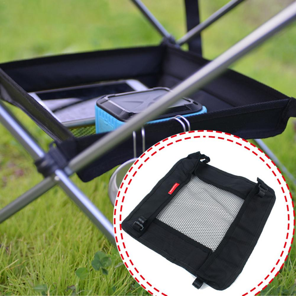 Outdoor Folding Table Storage Hanging Net Bag Camping Hiking Accessories Storage Tool Bag For Carrying